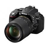 Camara Nikon D5300 24mp Lente 18-55 Reflex Profesional