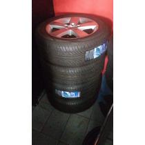 Rodas Opala Civic Aro 16 Com Pneus Novos 205 55 16