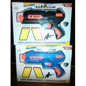 Juguete De Accion Para Niño Tipo Nerf Soft Blaster