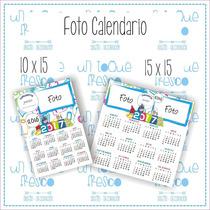 Foto Calendario Iman 100 % Imantado Personalizado 20 X 15