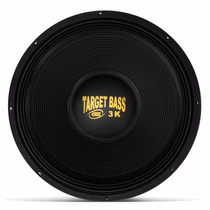 Woofer Eros Target Bass 3.0 18 1500rms 4ohms