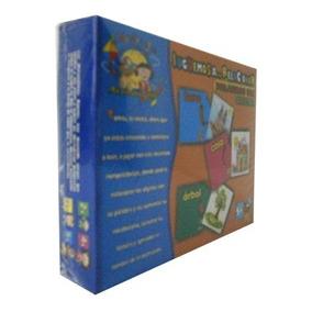 Juguete Rompecabezas De Carton De Objetos