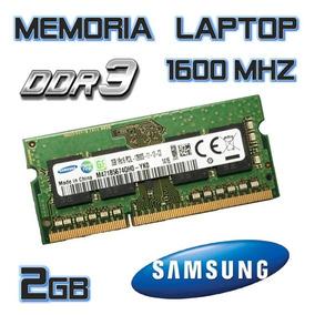 Memoria Samsung 2gb Ddr3_1600mhz Laptop Sellada