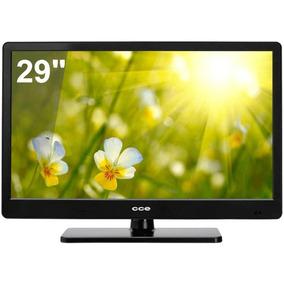 Tv 29 Led Cce Lt29g Conversor Digital Integrado Hdmi Preta