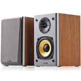 Parlantes Madera Edifier R1000 T4 2.0 24w Rms Gtia Oficial