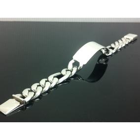 Esclava Gruesa De Plata Ley 925 Tejido Cartier Ad3300