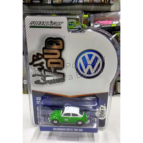 1:64 Volkswagen Beetle Vocho Taxi Mexico Greenlight