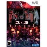 The House Of Dead 2 & 3 Return Nintendo Wii Nuevo Sellado