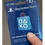 Tarjeta De Recarga Playstation Network Usd $10