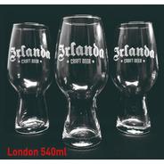 Vasos Vidrio Pinta 540ml Cervecero London Personalizado Grabado X1u Eventos  Regalos Souvenir Vaso Cerveza Cervecería