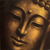 Cuadro Con La Imagen De Buda Impreso En Iienzo Canvas 80x80