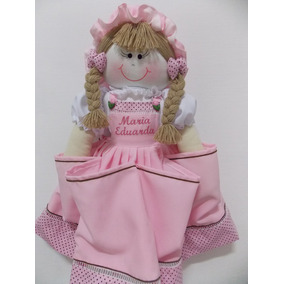 Porta Fralda,decoração,festa,maternidade,boneca De Pano