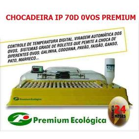 Chocadeira Ip70d Para 70 Ovos - Premium Ecológia