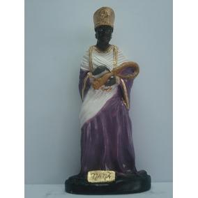 Escultura Nanã Orixás Do Candomblé Africano Imagem Nana 40cm