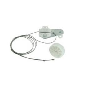 Kit Reparo Maquina Vidro Eletrico 4pt Tras Ld Astra C/ Chapa