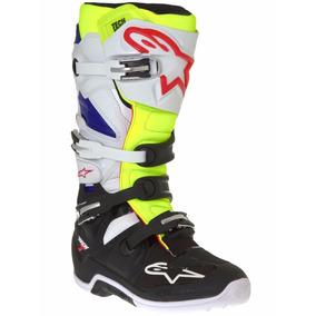 Botas Alpinestars Tech 7 Motocross + Medias De Regalo