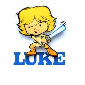 Luminária 3d Decor Light Star Wars Luke Skywalker
