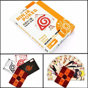 Baralho Naruto Uzumaki Poker Truco Cartas Jogos