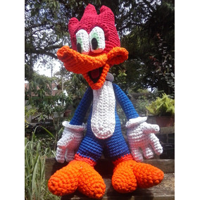 Super Amigurumi Wood Woodpecker Pica Pau Max Crochê