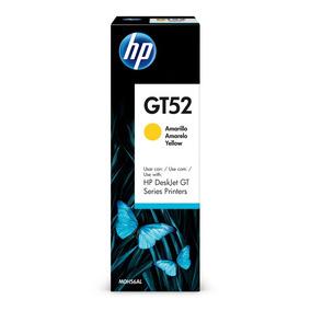 Computadores - Hp - Botella Tinta Gt52 Amarillo