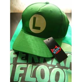 Gorras Fernanfloo Youtuber Luigi Nintendo *mr Korneforos*