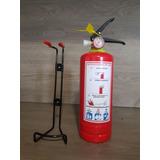 Extintor De Emergencia 1kg Recargable Polvo Quimico Seco Abc