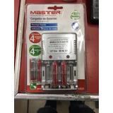 Cargador Baterias Aaa, Aa Y 9vcc