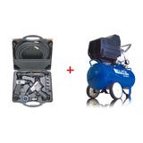 Compresor De Acople Directo + Kit De 10 Piezas Craftsman