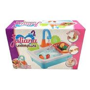 Lavavajillas Juliana Con Canilla Y Frutas P/ Cortar Edu Full