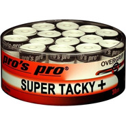 Cubregrips Pros Pro Super Tacky Plus 30 Pack Tenis Padel
