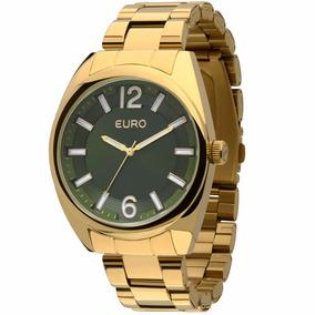 Relógio Euro Feminino Dourado Eu2035xzj/4v - ( Nfe )
