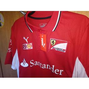 00af657efb Camisa Ferrari Shell Lançamento - Camisa Pólo Manga Curta Masculinas ...