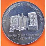 Medalla Mexico Estado De Yucatan 1963 Plata Excelente