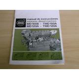 Manual De Instruções Volvo Penta Motores Md100b Md120a