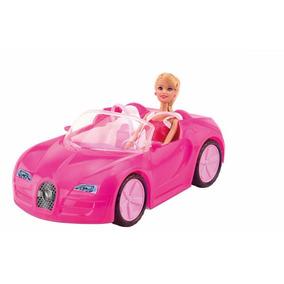 Boneca Estilo Barbie Passeio Carro.