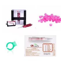 Kit Dermógrafo Micropig Gr Basic +3 Pont +50 Batoque + Anel