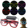 Lentes Con Luces Led Electroluminiscente