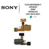 Flex Sony Ericsson Encendido Audio Xperia Go St27 Original