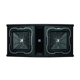Kicker Q-class Dl712 Dual L7 12-inch Subwoofers In Vented En