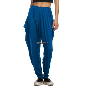 Meaneor Mujeres Hippie Hip-hop Harén... (blue, L)