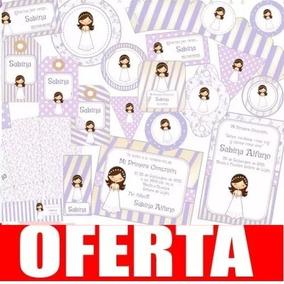 Kit Imprimible Comunión Lila Nena Promo 3