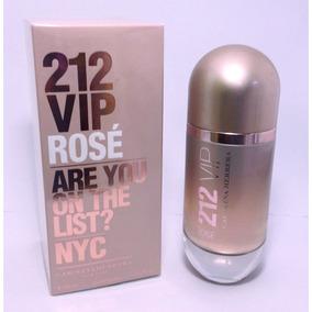 Perfume Carolina Herrera 212 Vip Rosé 80ml Original Lacrado