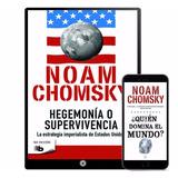Noam Chomsky Colección 10 Libros - Digital