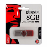 Pendrive Kingston 8gb Datatraveler Usb 2.0 Tienda Oficial