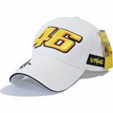 Frete Gratis Boné Valentino Rossi Moto Gp Vr 46 Branco