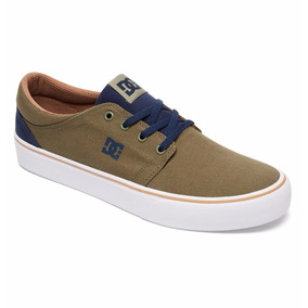 Tenis Dc Shoes Casuales Mens Trase Tx Adys300126 Mil Verde