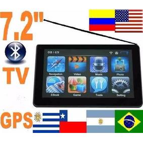 Gps 7 Tv Con Garmin Xt Con 4 Navegador Mapa Mercosur Eeuu