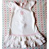 Vestido De Verano Importado Para Beba Talla 3 Meses