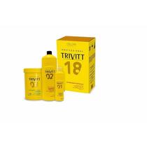 Itallian Hairtech Trivitt 18 Kit Hidratação Profissional