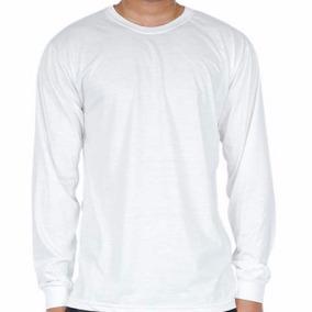 Camiseta Manga Longa Extra Grande Básica Lisa Camisa Blusa